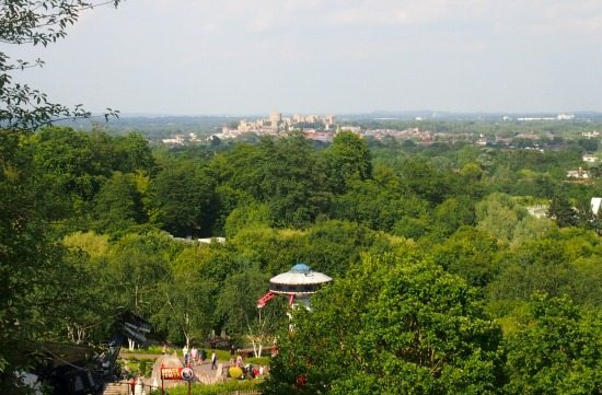 Windsor view from Legoland UK