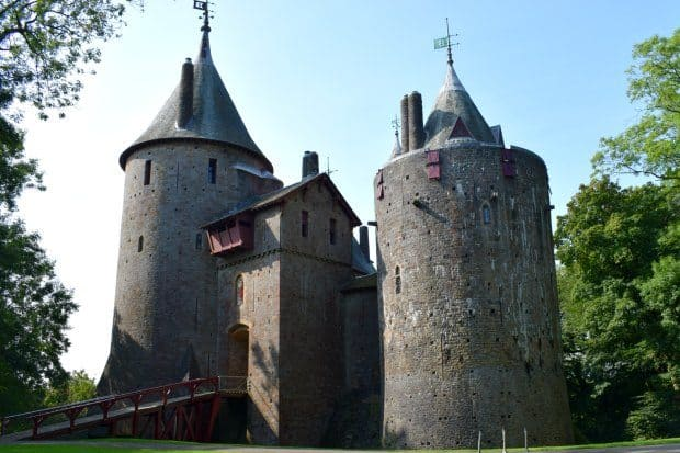 Castell Coch. Things to do in South Wales. Near Cardii Castle