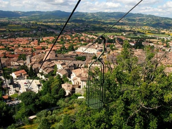 Gubbio cable car