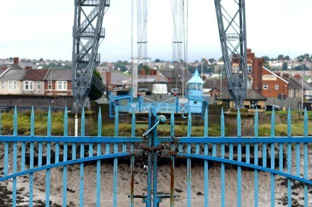 Places to visit in Wales. The Transporter Bridge, Newport South Wales