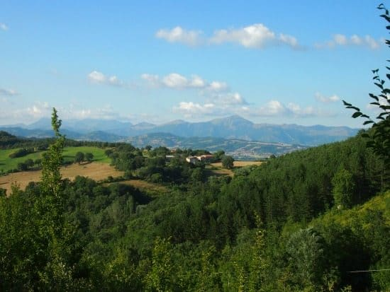 Umbrian hills  view or wifi?