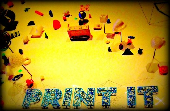 Family travel blog #D printing science museum