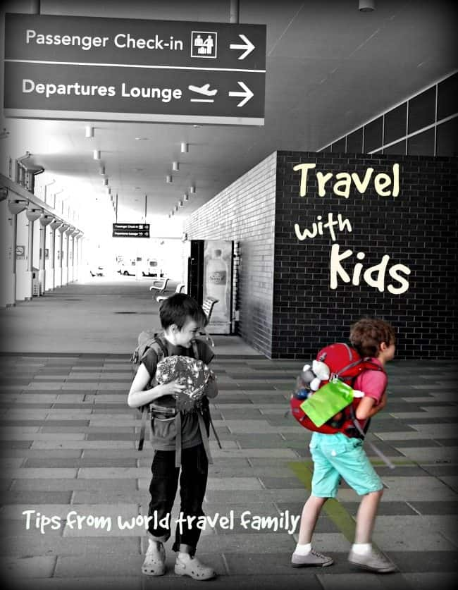 Travel with kids blog tips world travel family