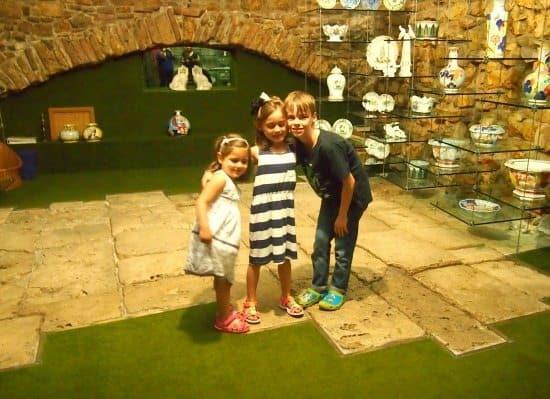 Roman Road Assisi family travel blog