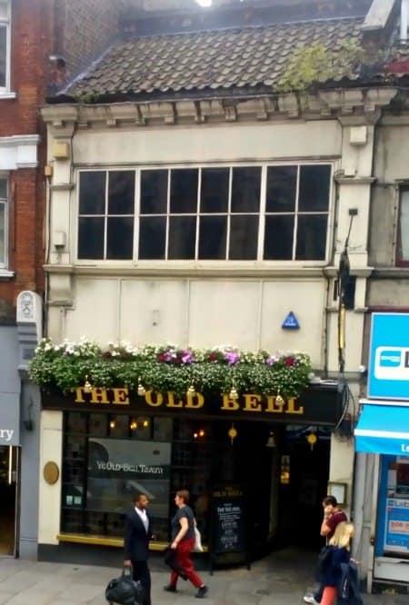 The Old Bell Fleet St London