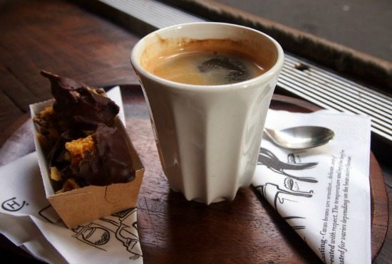 Coffee London on the cheap
