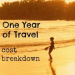 cost of one year of travel