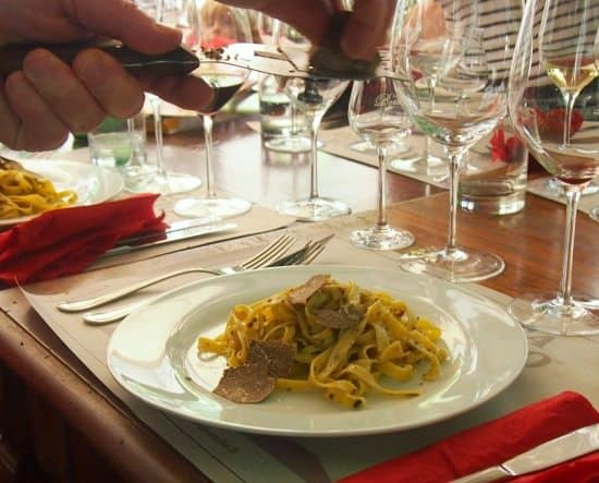 Food in Umbria. Black truffles. World Travel Family Travel Blog