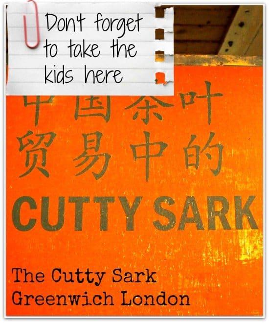 Cutty Sark Greenwich London