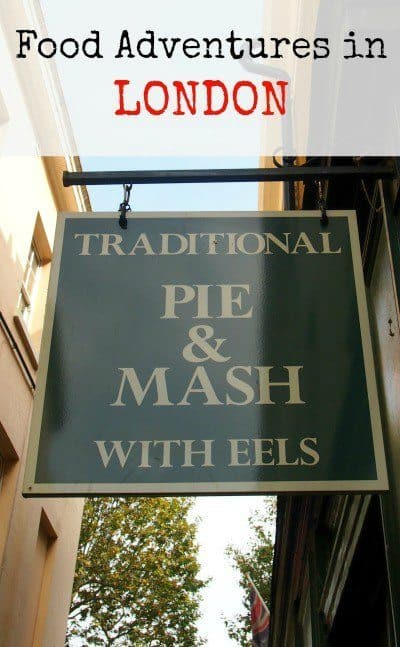 Traditional London Food family Travel Blog