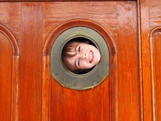 Cutty Sark Greenwich porthole