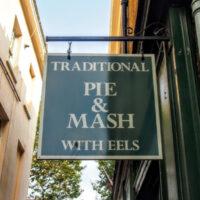 Pie, Mash, Liquor and Eels. London Food!
