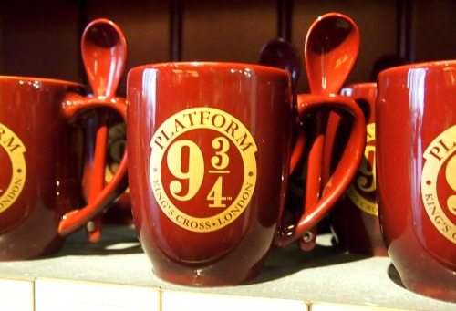 Platform 9 and three quarters harry potter mug