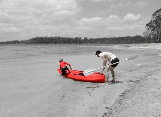 Kayaking australia 550