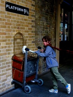 Platform nine and 3/4 london