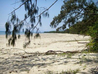 Deserted beach Cape Tribultion