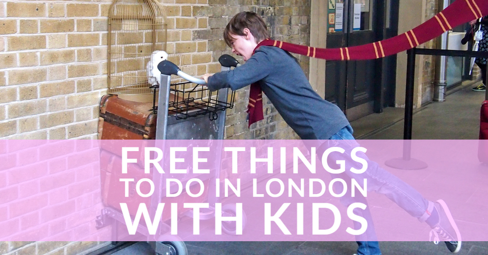 Free Things To Do in London With Kids Guide Harry Potter Station