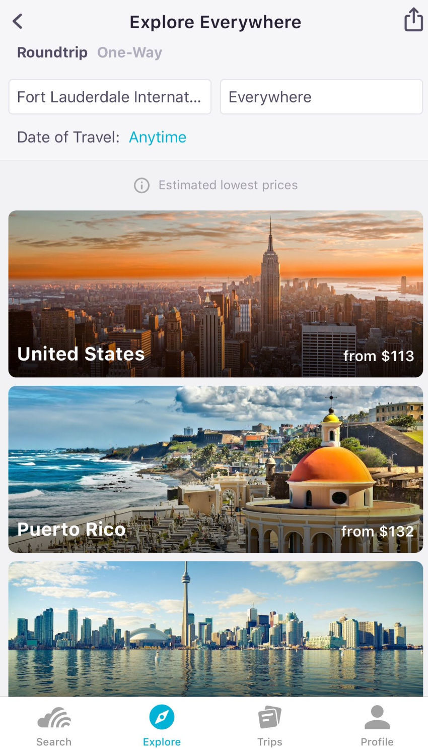 How to Use Skyscanner to Find the Cheapest Destinations