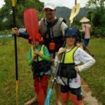 Kayaking in Vang Vieng and Caving Tubing