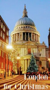London For Christmas St Paul's
