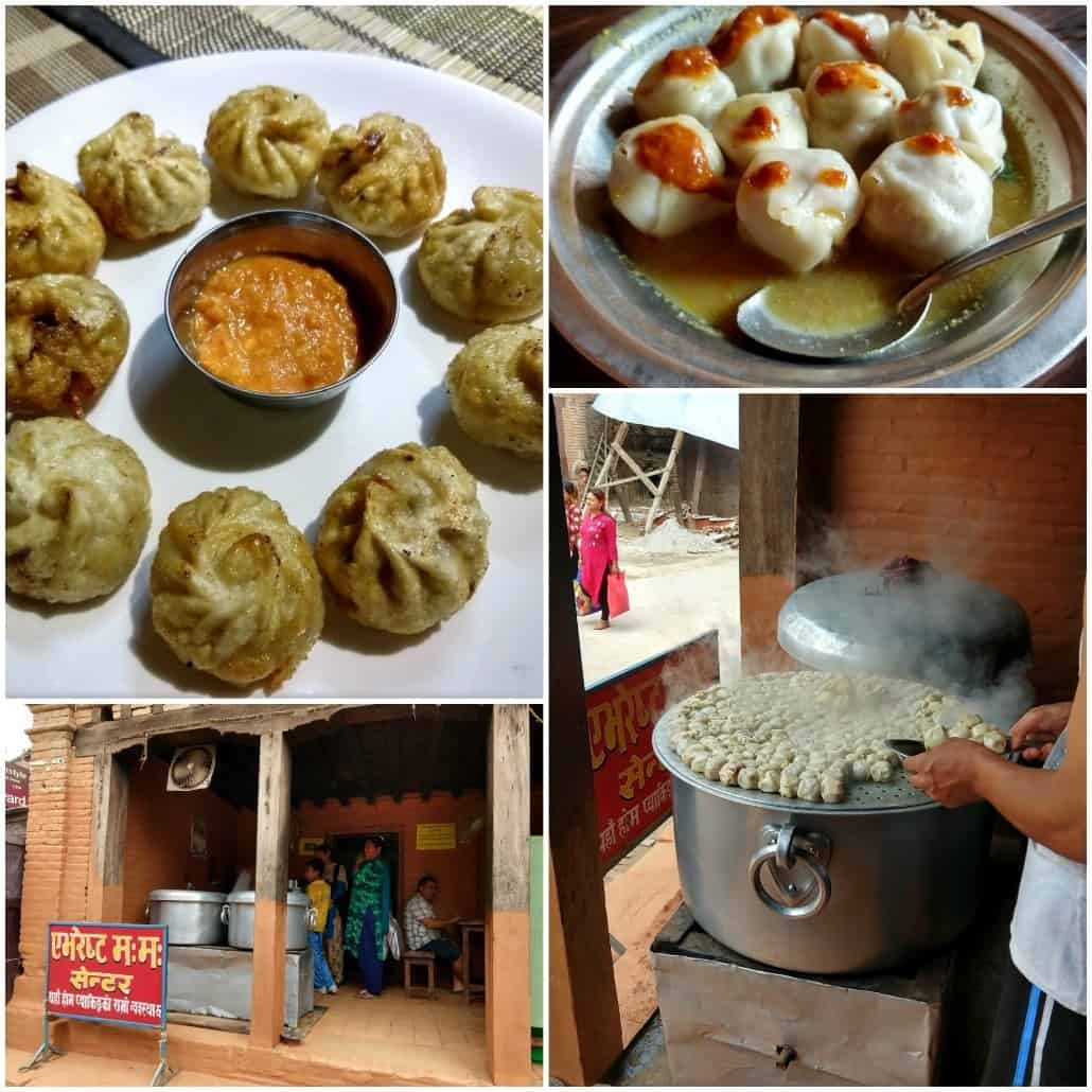 Momos Nepalese Food