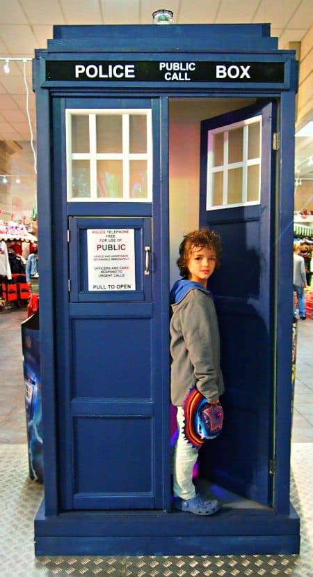 Tardis London for kids