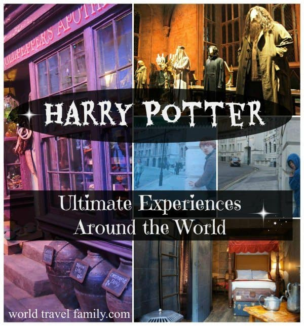 Harry Potter Experiences around the world travel family blog