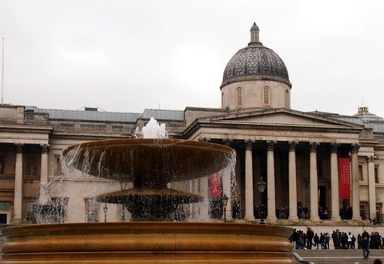 Best Areas of London to Visit. National Gallery and Trafalgar Square London