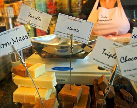 Sweet Shop England. Marmite Fudge