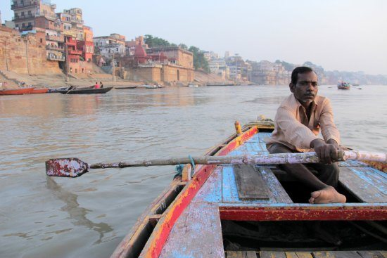 5 Unmissable Places in North India. Varanasi India Ganges