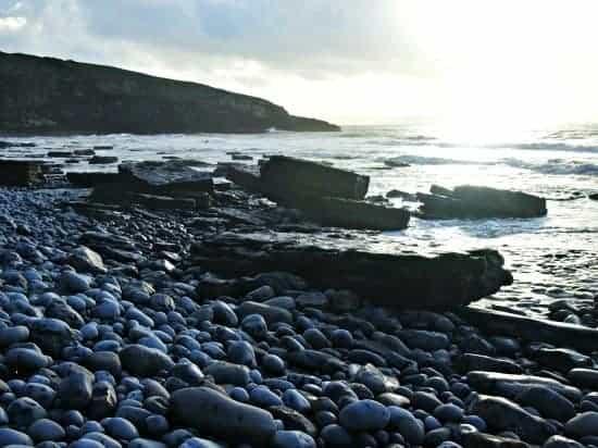 Bad Wolf Bay, Southrndown Wales. World Travel Family