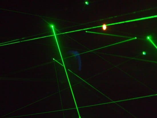 laser maze ripleys London