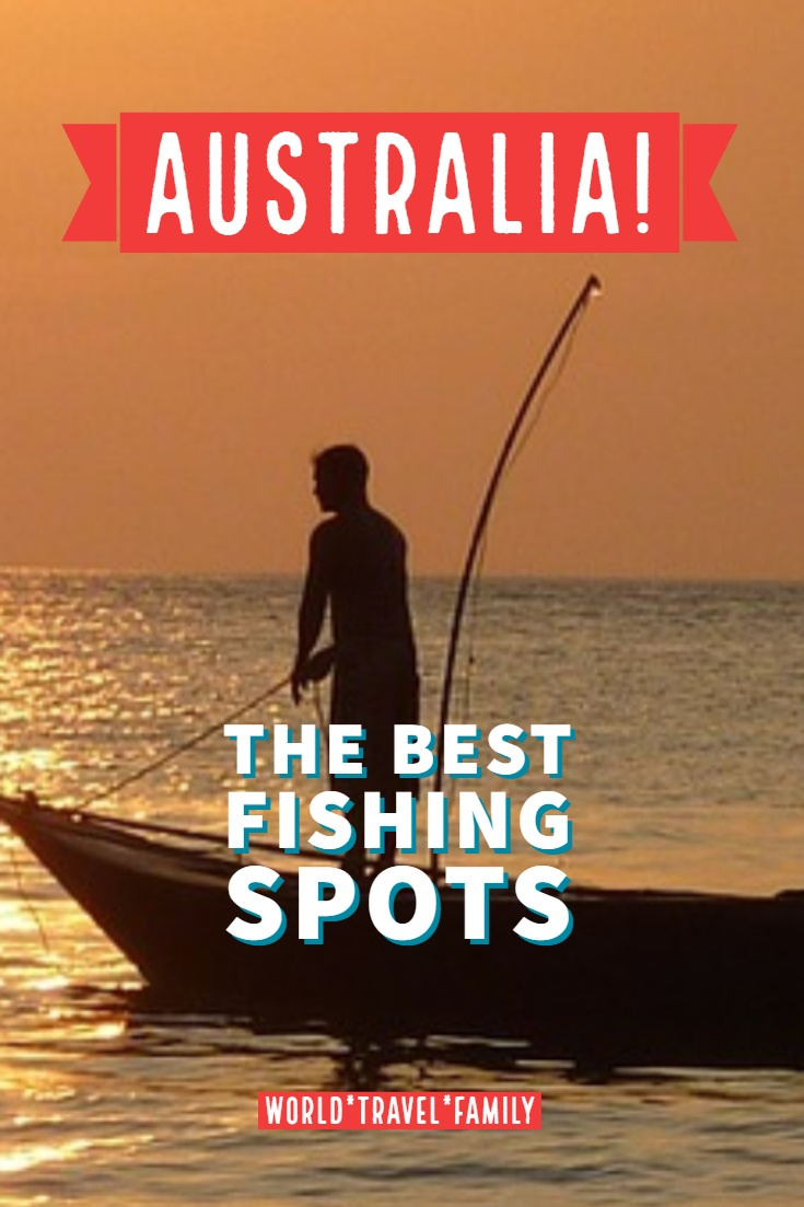 Australia the best fishing spots pinterest