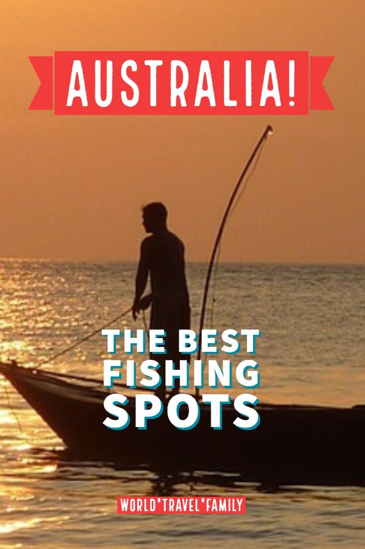 Australia the best fishing spots pinterest