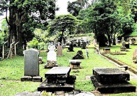 Kandy Sri Lanka visit cemetary