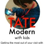 Tate Modern Kids. London's Tate Modern Art Museum with kids and for families