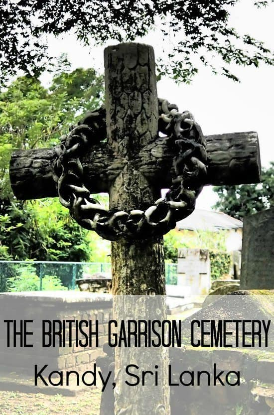 The British Garrison Cemetery, Kandy Sri Lanka.