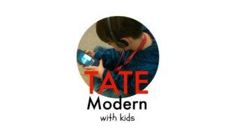 The Tate Modern With Kids