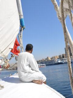 family vacation egypt nile cruise sailing