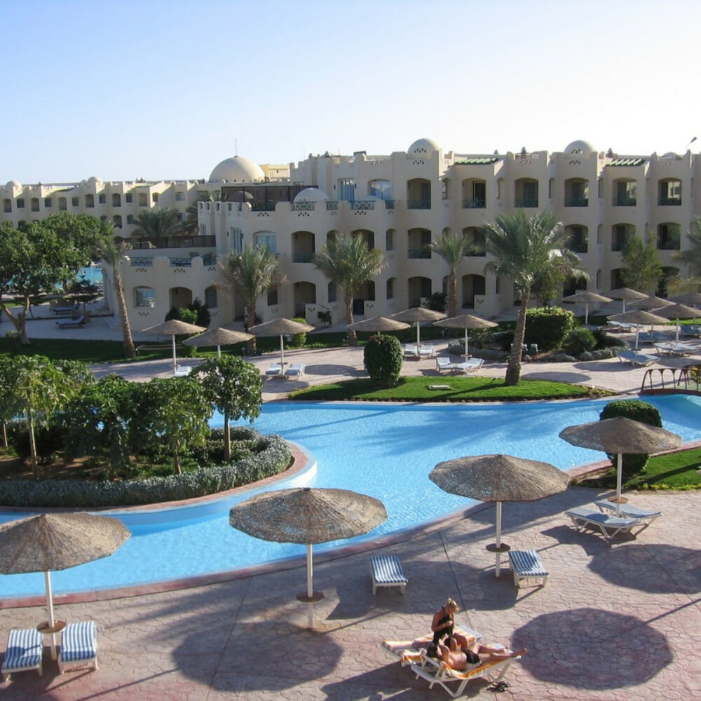 family vacation egypt resort hotel pool luxury