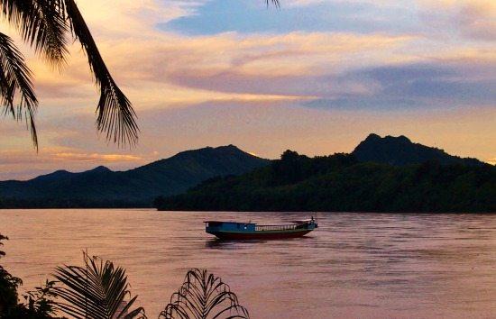 Visit Luang Prabang Laos Mekong Sunset
