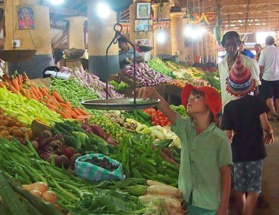 Old Dutch Market Galle Sri Lanka