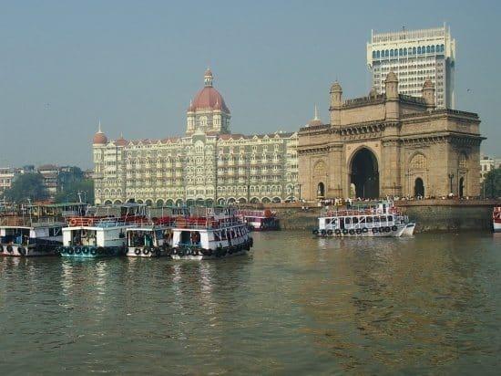 Boats Mumbai. Waiting to take visitors to elephants caves and elephanta island
