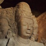 Visiting Elephanta Caves ( Elephanta Island) Mumbai India