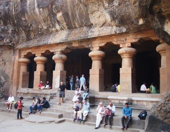 Elephanta caves, elephanta island mumbai India