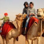 Dubai Camel Safari in The Desert.
