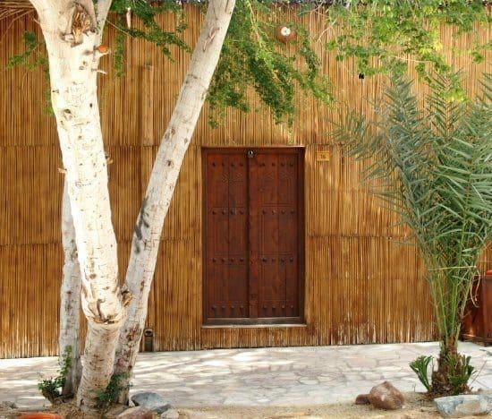 Dubai Cultural Tour and Al Fahimi, Old Dubai. Doors in traditional walls.