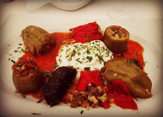 Terrace restaurant Armad Istanbul