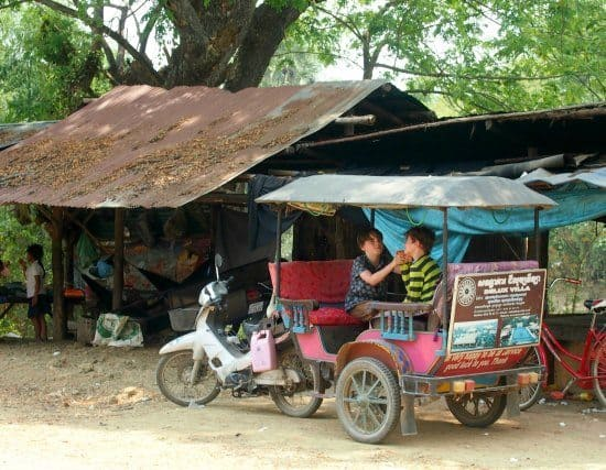 1 dy tour of Battambang by tuk tuk