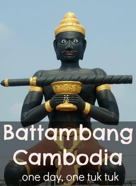 Battambang Cambodia one day tour things to do and see